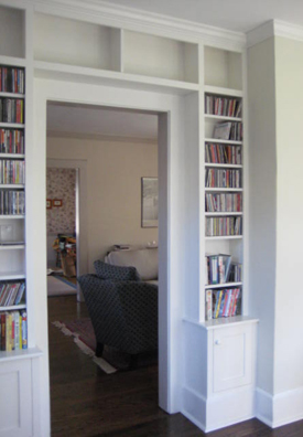 radiator bookcase