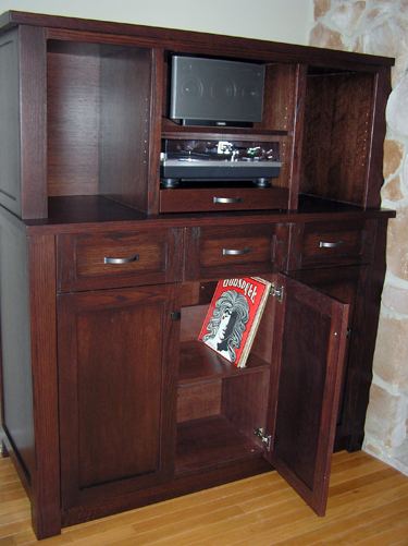 phonograph cabinet