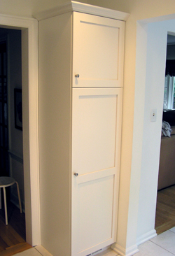Elegant ... White Pantry Cabinets With White Frameless Shaker Style Kitchen With  Bathroom Pantry Cabinet With Cabinets Pantry
