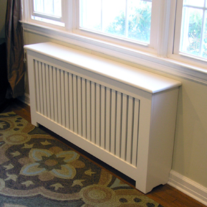 mission style radiator cover